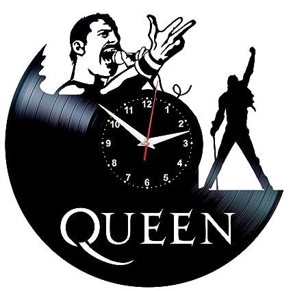 Evevo De Moderno Colgante 12 Del Queen Vinilo Único Decoración Vintage Pared Accesorios Hogar Diseño Reloj nNOP0kX8w