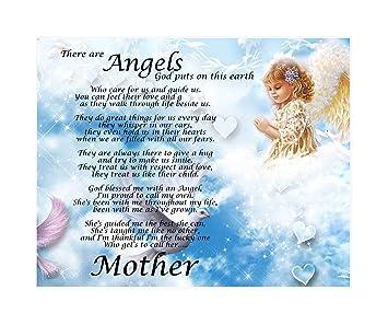 Amazonde Personalisierbar Mutter Engel Gedicht Geburtstag