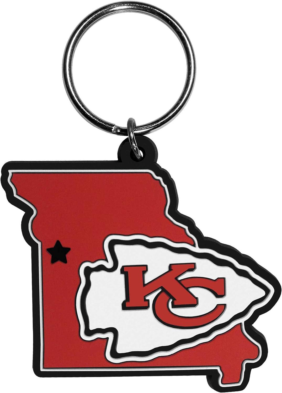 Siskiyou NFL unisex-adult Home State Flexi Key Chain