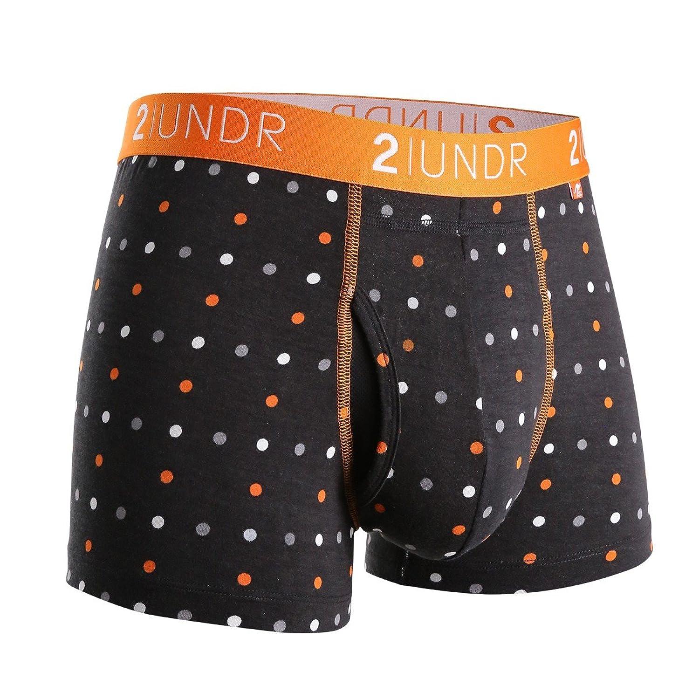 """2UNDR Mens Swing Shift 3"""" Trunk Boxers Underwear"""