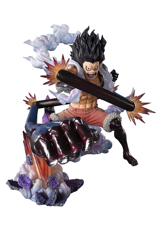 Bandai Tamashii Nations Figuartszero Monkey D Luffy Gear 4 Snakeman King Cobra Onepiece Statue
