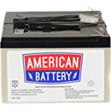 RBC6 UPS Replacement Battery  for APC By American Battery