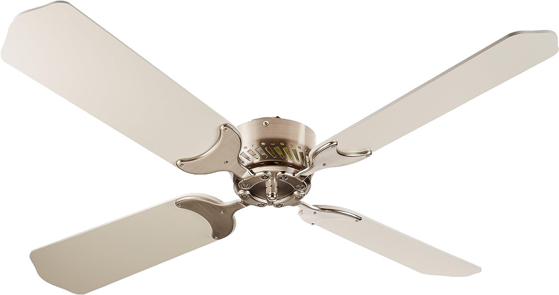 "Lasalle Bristol 410TSDC42BNWH RV Motorhome Ceiling Fan 42/"" Brushed Nickel"