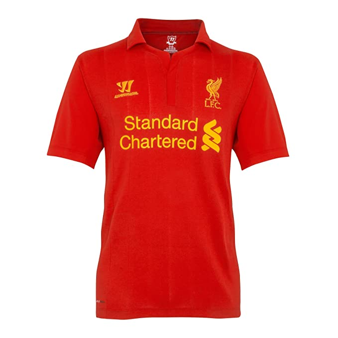 detailed look ff6bf 772e7 Warrior Sports Liverpool FC Youth Home Replica Jersey