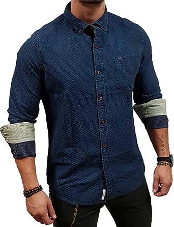 Pepe Jeans Camisa Toole Indigo XXL Marino: Amazon.es: Ropa y ...