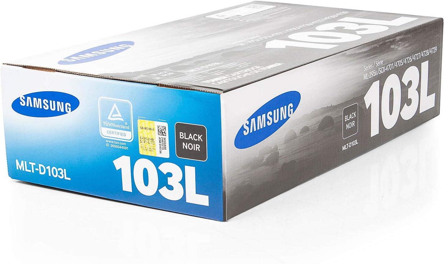 Samsung Original Mlt D103l Su716a 103l Für Ml 2950 Ndr Premium Drucker Kartusche Schwarz 2500 Seiten