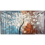 Anself OY-DS036 - Dipinto su tela moderno, motivo Primavera, 60 x 120 cm, pittura a olio, realizzato a mano, senza cornice