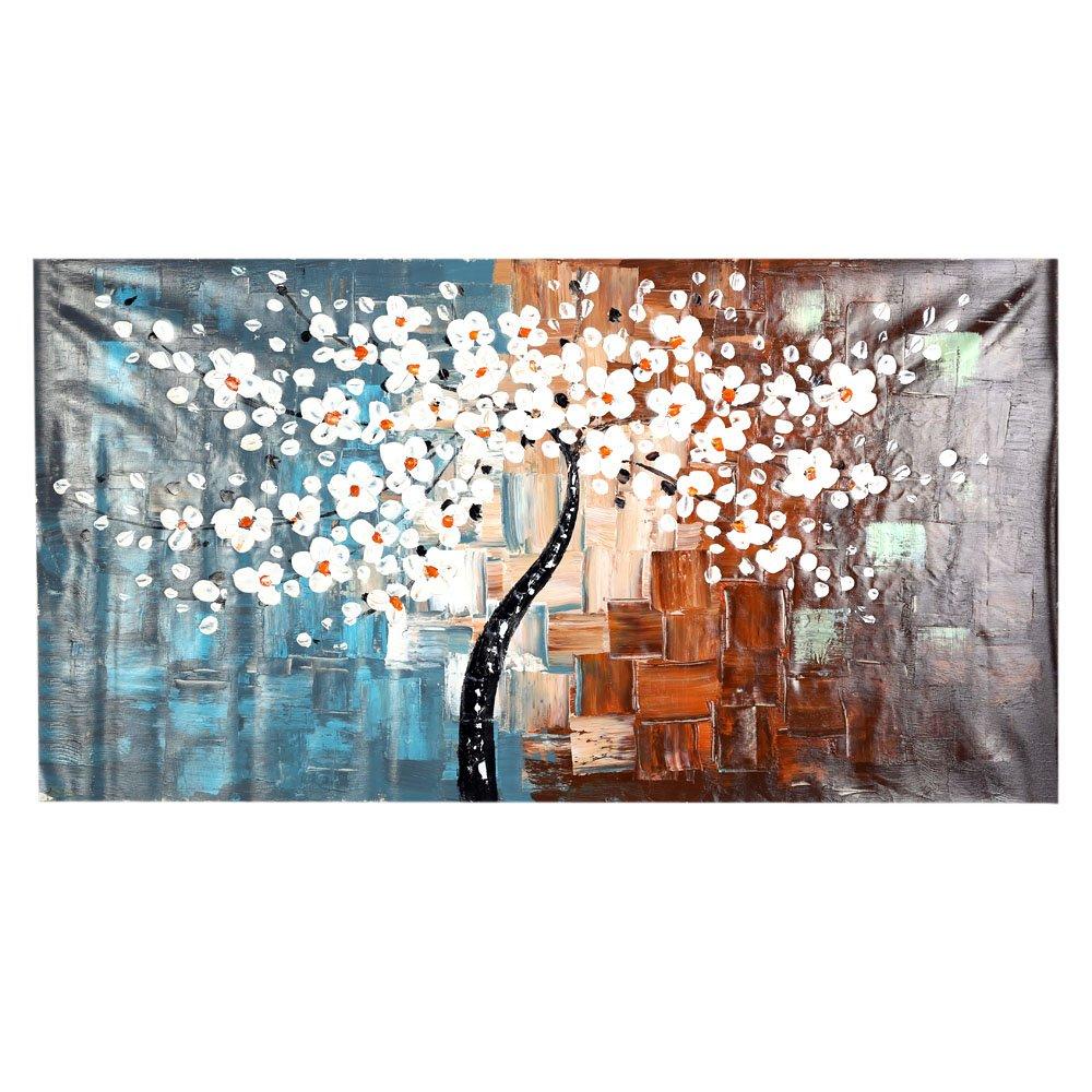 Anself OY-DS036 - Cuadro en lienzo moderno - Primavera - 60 * 120cm ...