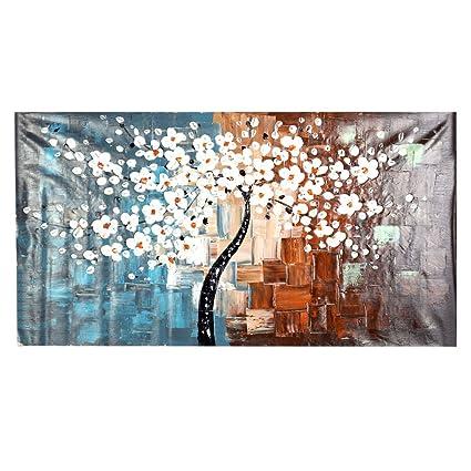 Anself OY-DS036 - Dipinto su tela moderno, motivo Primavera, 60 x ...