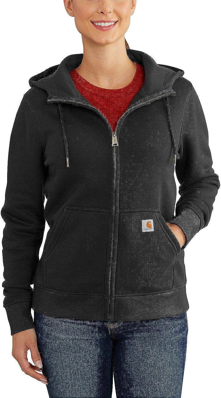 Carhartt Womens Clarksburg Full Zip Hoodie Hooded Sweatshirt
