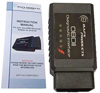 This BAFX OBD2 is the ideal diagnostic scanner for home use