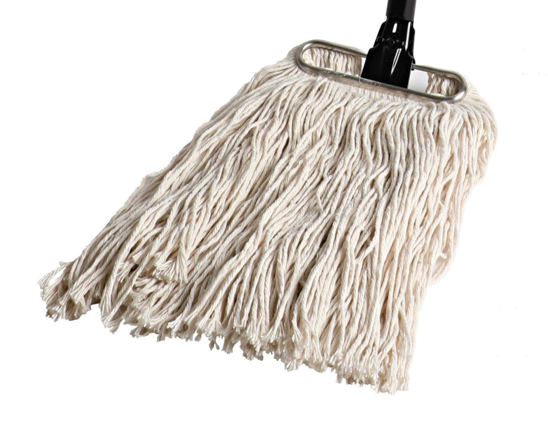 Fuller Brush Wet Mop Head - Absorbent & Professional Quality Cotton Yarn Floor Cleaner for Cleaning House, Commercial & Industrial Spaces by Fuller Brush (Image #2)
