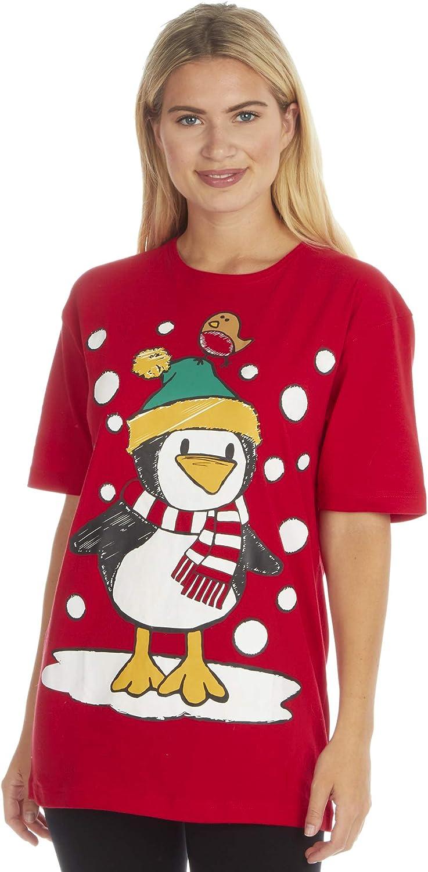 Fruit of the Loom - Camiseta de algodón con Estampado navideño para Hombre