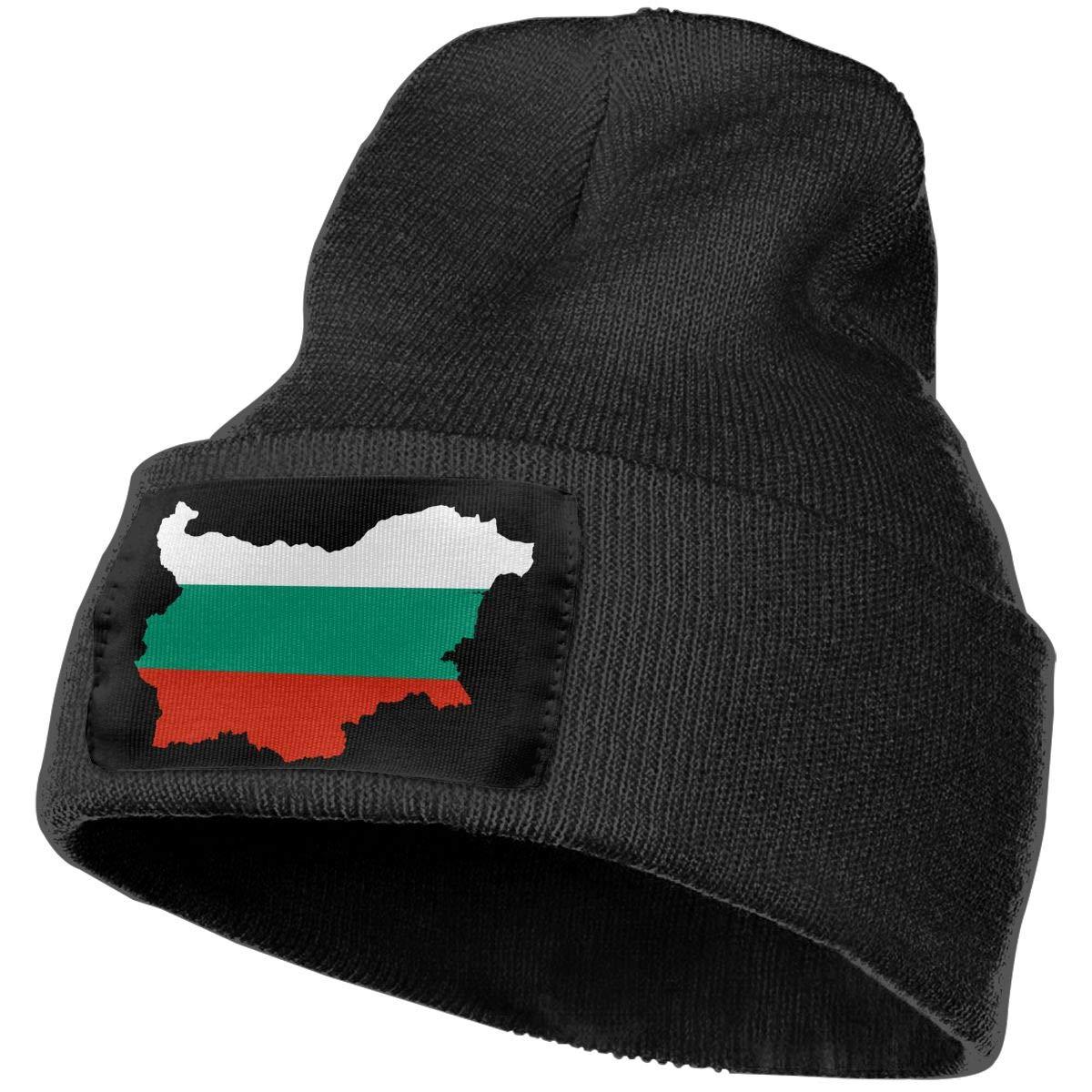 SLADDD1 Bulgaria Warm Winter Hat Knit Beanie Skull Cap Cuff Beanie Hat Winter Hats for Men /& Women