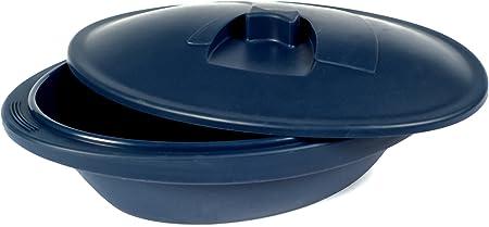 PINFI 81132 - Papillote/Estuche de Vapor de Silicona, 1400 ml, Color Azul Marino: Amazon.es: Hogar