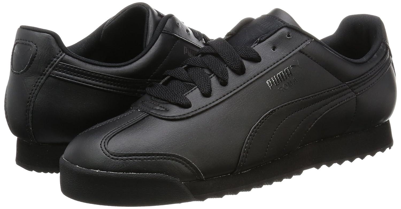 Puma Herren Roma Schwarz Basic Sneakers Schwarz Roma (Black-black 17) d1a13d