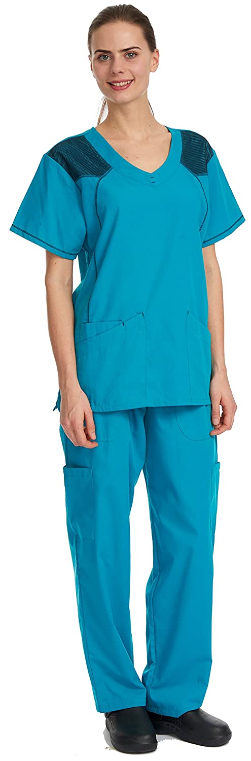 8c18a4bbc58 FOR THE PERFECT FIT - please order 1 or 2 sizes up from what you normally  wear - some suggest these scrubs tend to be quite fitted