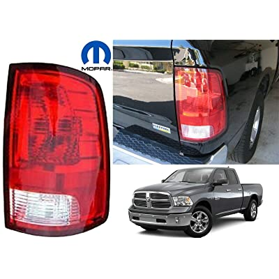 Dodge Ram Pickup 1500 Replacement Tail Light Assembly - Passenger Side: Automotive [5Bkhe0801484]