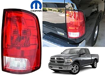 Amazon Com Dodge Ram Pickup 1500 Replacement Tail Light Assembly Passenger Side Automotive