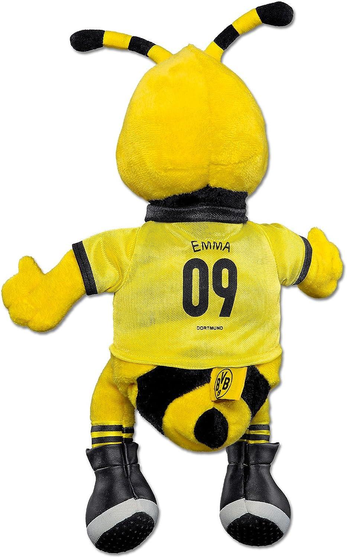 Negro/Amarillo 30 cm Borussia Dortmund EMMA Figura de felpa Unisex ...