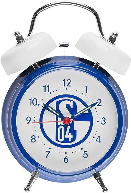 FC Schalke 04 Glockenwecker Sound Wecker Retro Soundwecker S04 Plus Lesezeichen I Love Gelsenkirchen