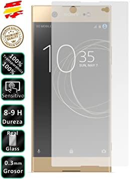 Movilrey Protector para Sony Xperia XA1 Ultra 6.0 Cristal Templado ...