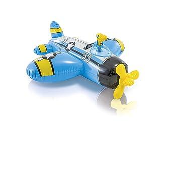 Intex Figura Avion Hinchable (132X130 CMS) con Pistola Lanza Agua ...