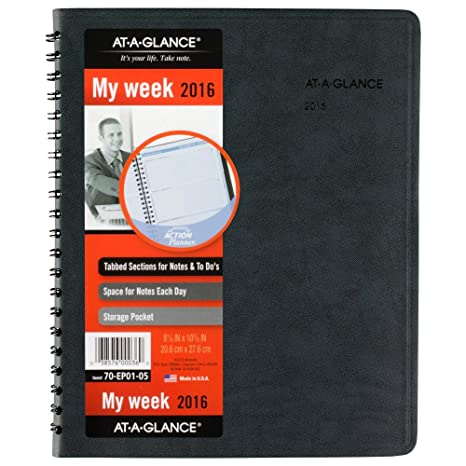 amazon com at a glance daily appointment book planner 2016 the