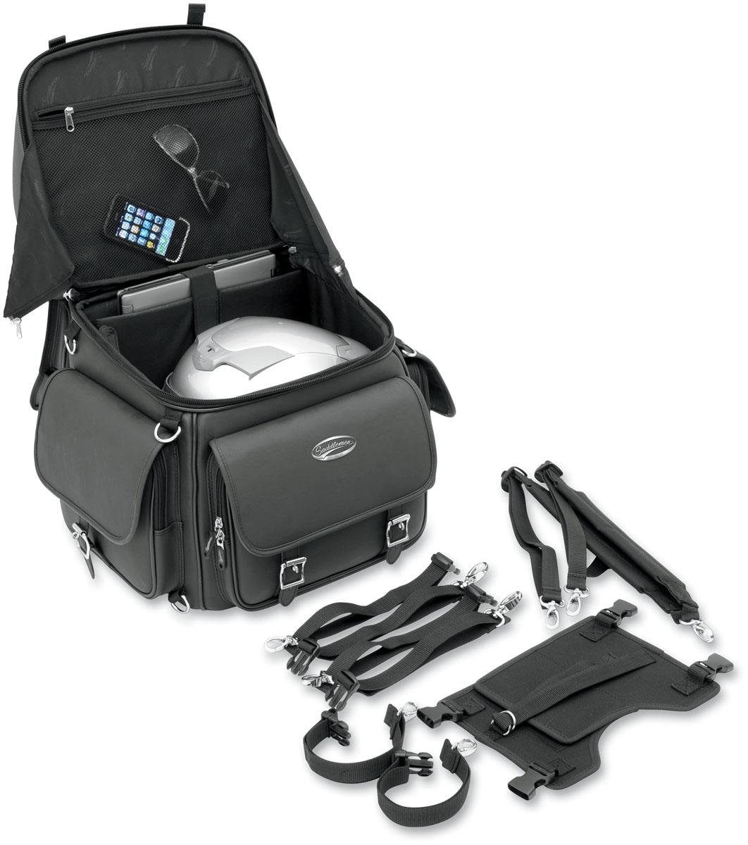 Saddlemen 3515-0118 Combination Back Rest/Seat/Sissy Bar Bag 508248