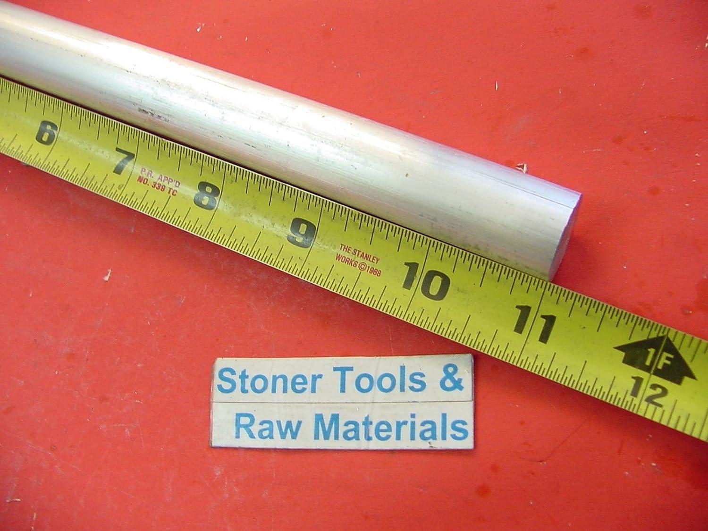"2-1//4/"" ALUMINUM 6061 T6511 ROUND ROD 6/"" long Solid 2.25 Diameter Lathe Bar Stock"