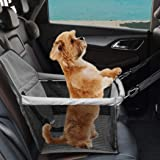 PaWz Pet Car Booster Seat Puppy Cat Dog Auto Carrier Travel Protector Safety Grey