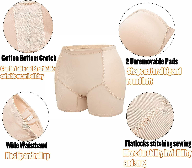 3-5 Days Delivery Womens Hip Butt Enhancer Pads Butt Lifter Shapewear Padded Seamless Panties Underwear Shorts