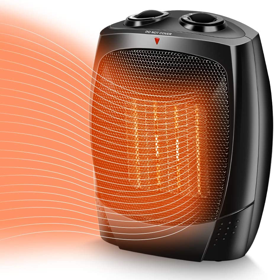 Amazon.com: TRUSTECH Space Heater, 1500W Portable Heater, Up to ...