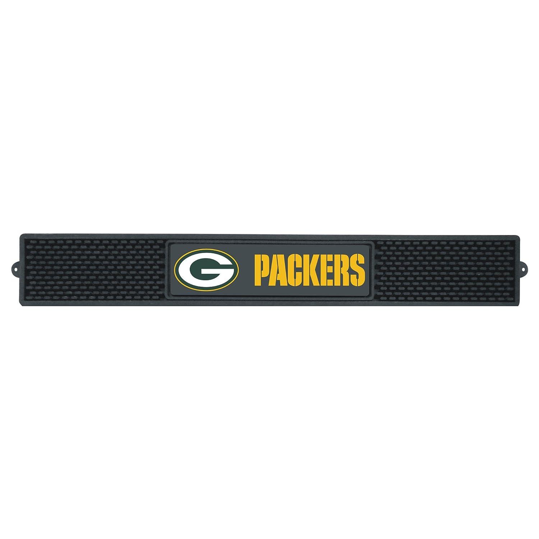 FANMATS NFL Green Bay Packers Vinyl Drink Mat 13986