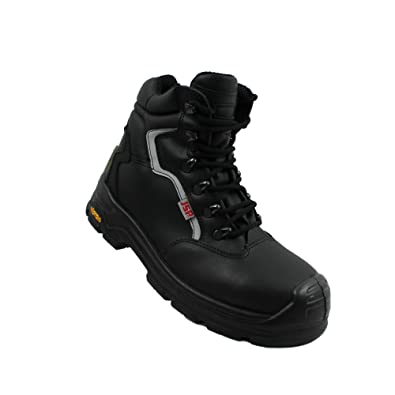 JSP - Calzado de protección de Piel para hombre, color Negro, talla 41