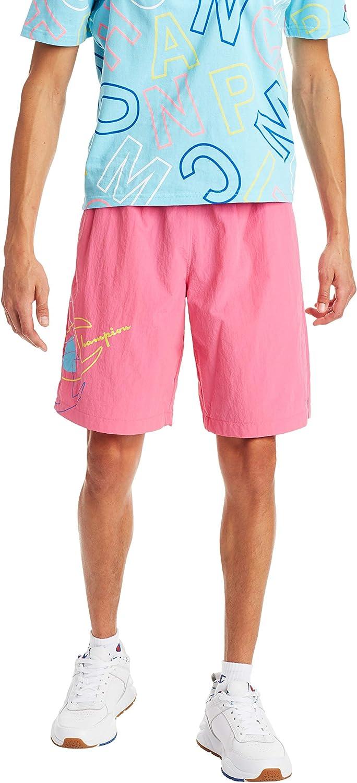 Champion LIFE Men's Crinkle Nylon Shorts: Clothing
