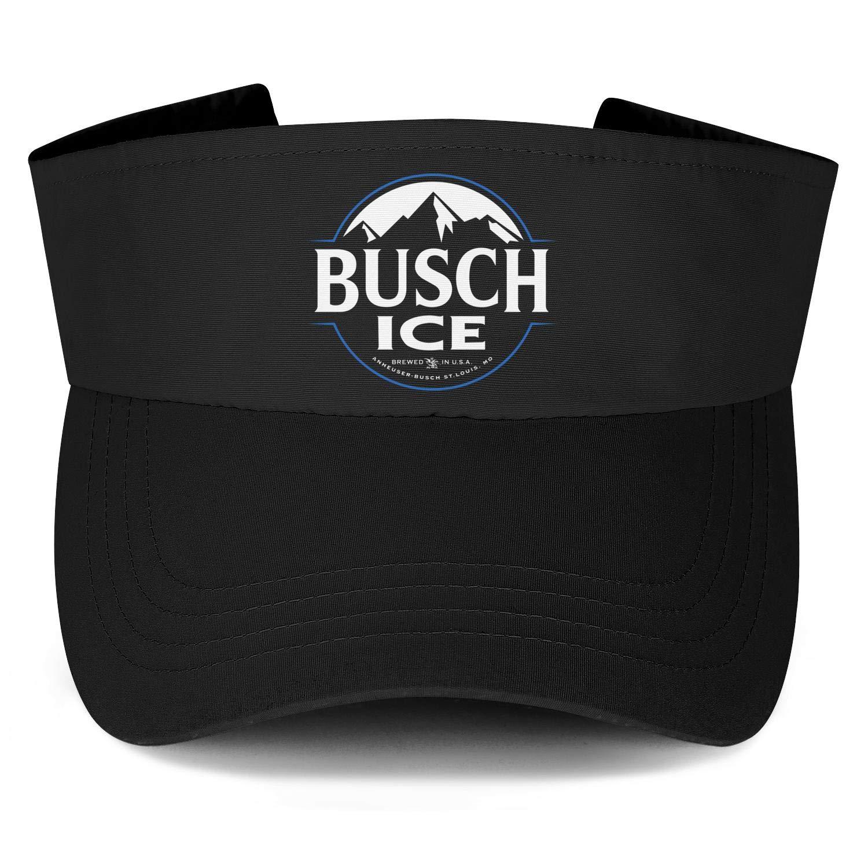 Busch-Light-Beer-Blue-adge-White-Womens Unisex Sun Visor Cap Cool Driving Hat