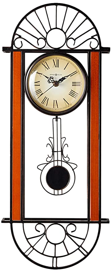 Amazon Com Howard Miller 625 241 Devahn Wall Clock Home Kitchen
