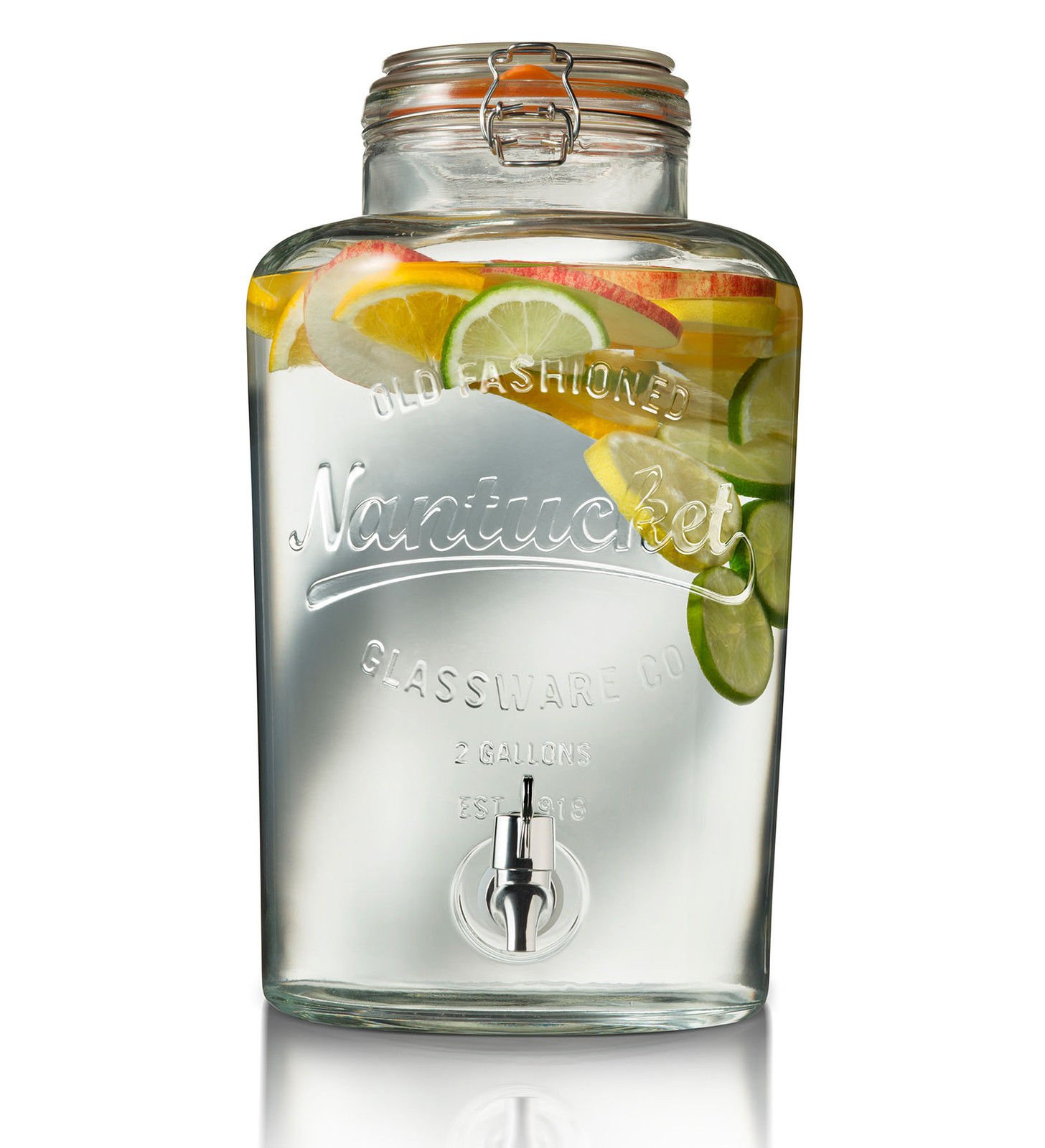 Home Essentials 2 Gallon Nantucket Drink Dispenser by Home Essentials & Beyond