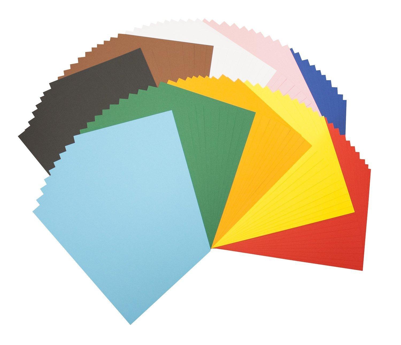 Bringmann Tonpapierblock A4 Farbig Sortiert 100 Blatt Max Bringmann 605