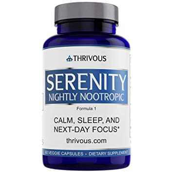 Amazon Com Serenity Nightly Nootropic Thrivous Official