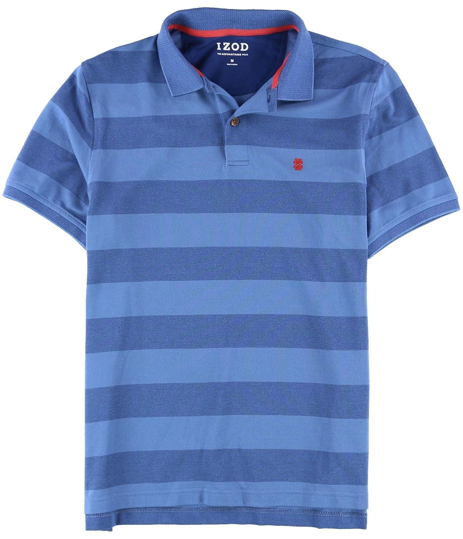 Izod Mens The Advantage Quick Dry Striped Polo Shirt At Amazon Mens