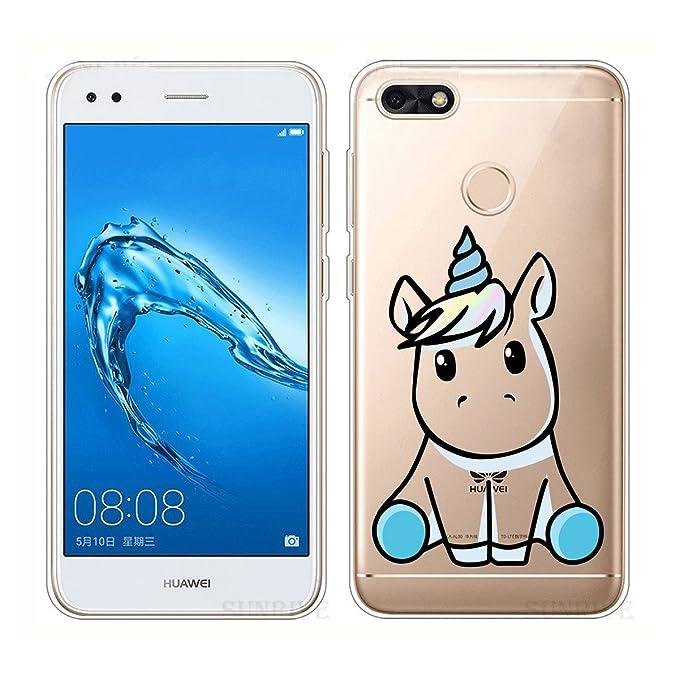 1 opinioni per Cover per Huawei Y6 Pro 2017 / Huawei Enjoy 7 Custodia , YIGA Un pony gattino