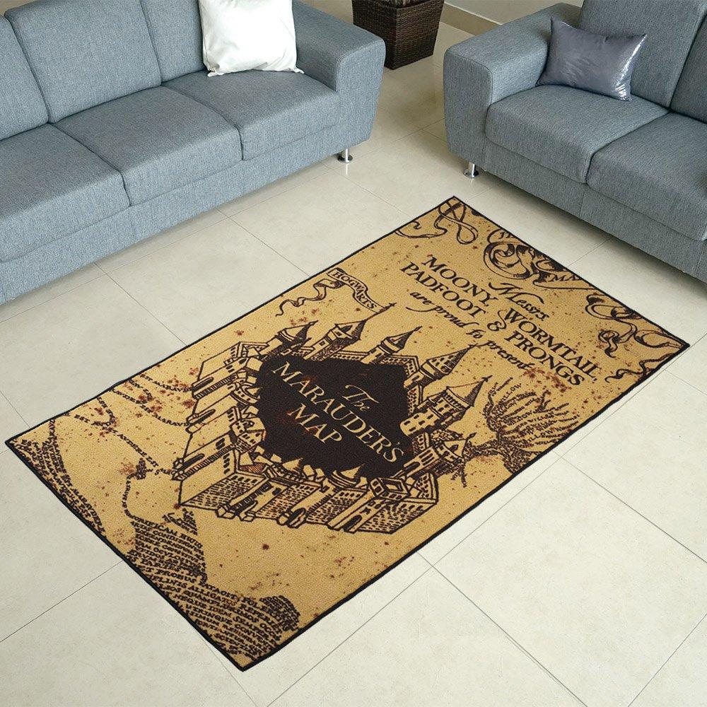 Robe Factory Harry Potter Marauders Map Area Rug