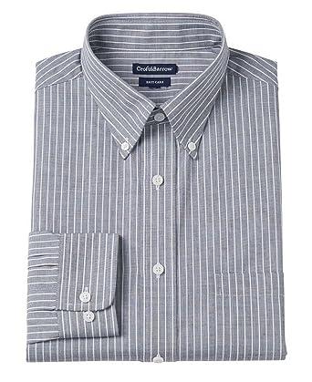 "055619500 Croft & Barrow Men's Classic Fit Easy Care Button Down Dress Shirt  (15.5"" Neck"