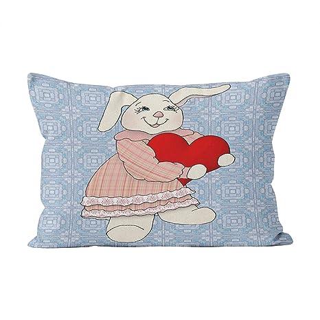 Suike Bunny Love on Country - Funda de cojín con Cremallera ...