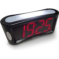 Travelwey Despertador Digital LED - Simple, con Cable