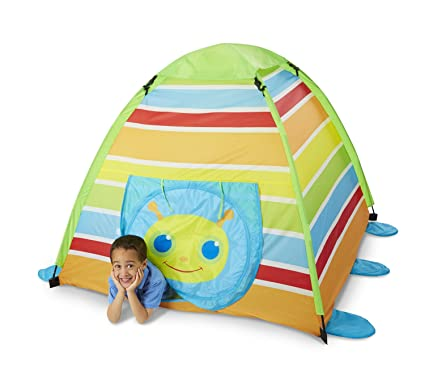 736976b5c8e Amazon.com  Melissa   Doug Giddy Buggy Camping Tent  Toy  Toys   Games