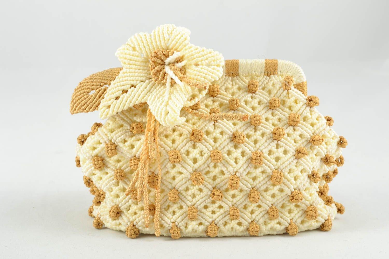 ハンドメイドBeauty Bag with Flower B00XVOO0MQ