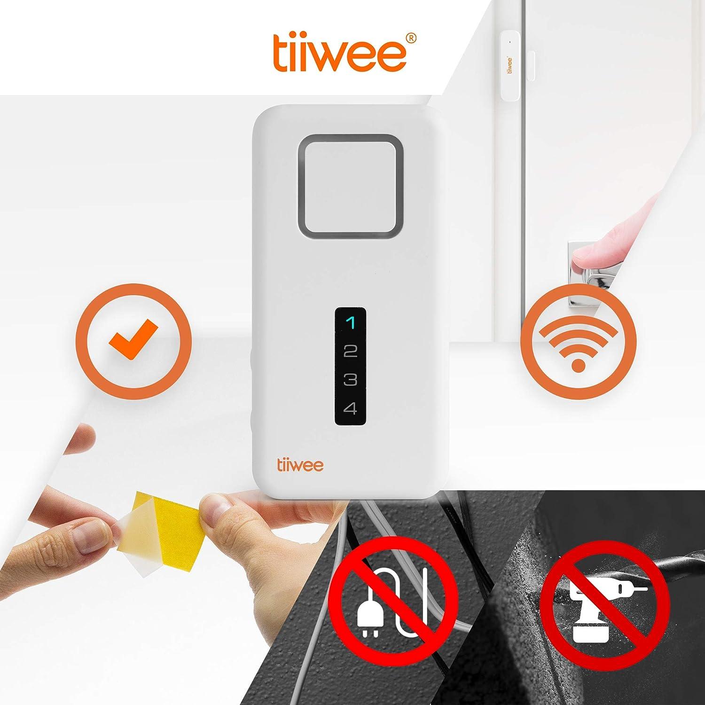 tiiwee X1 Allarme Sirena per il Sistema di Allarme Domestico Tiiwee X1 Protezione Antifurto Per Espandere i Sistemi Tiiwee X1 Per uso Interno Sistemi di Allarme Domestico